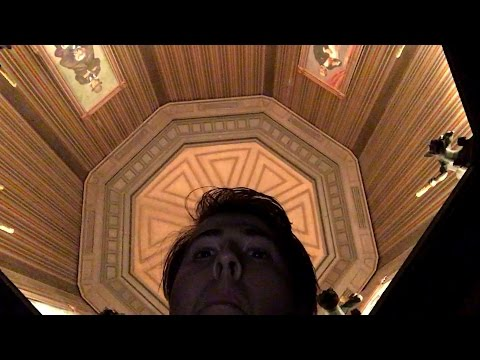 Haunted Mansion Stretching Room BACKWARDS