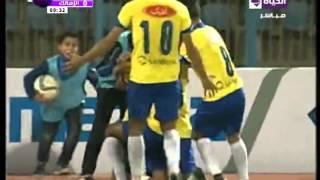 هدف الإسماعيلي الأول مقابل 0 الزمالك لإسلام جمال الدوري 3 فبراير 2016