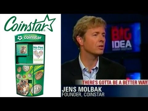 Coinstar founder Jens Molbak - How I Came Up With The Idea