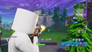 NEW Marshmello Skin / Fortnite Gameplay 30 Victoires