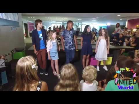 """Les Kids United dans le Live du journal """"Le Parisien"""""""
