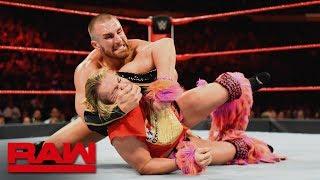Tyler Breeze vs. Mojo Rawley: Raw, July 16, 2018
