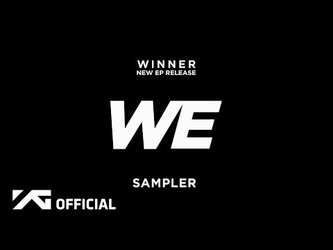 WINNER - 'WE' SAMPLER