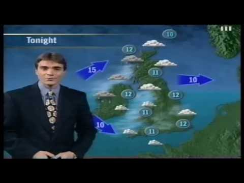 ITV Weather and Granada Continuity - 6th July 1997