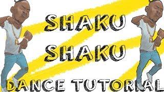 HOW TO DO THE SHAKU SHAKU DANCE (TUTORIAL)   JustinUg