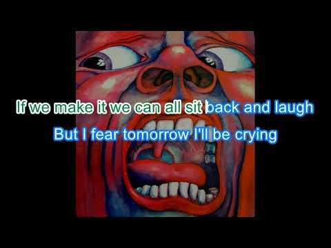 King Crimson - Epitaph (short version) - karaoke
