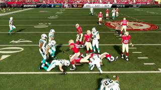 Madden 25 :: XBOX ONE Gameplay :: SIM WORLD - 49ers Vs. Panthers - Online Gameplay XboxOne