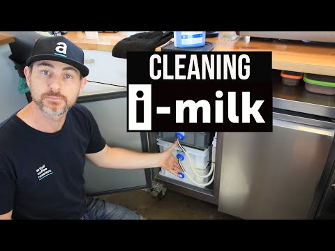 How to clean the i-milk automated milk delivery system