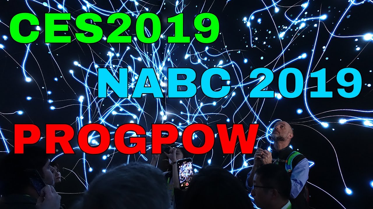CES2019 - North American Bitcoin Conference - GRIN / BEAM - PROGPOW and  more! by Bits Be Trippin'