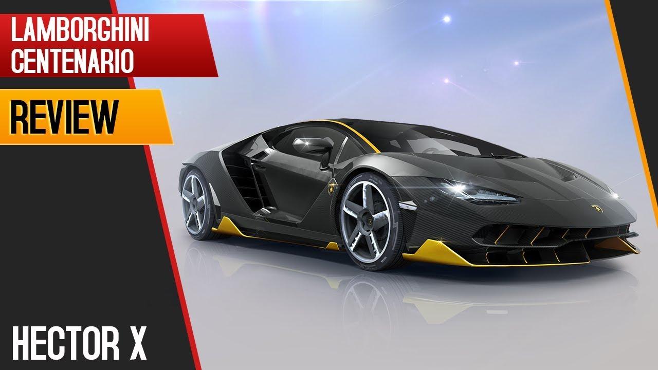 Asphalt 8 Lamborghini Centenario Review By Elite Hectorx Youtube