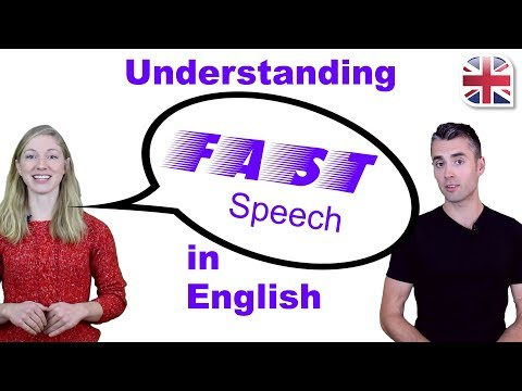 How to Understand Fast Speech in English - Improve English Comprehension