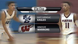 East Catholic at Windsor boys' basketball