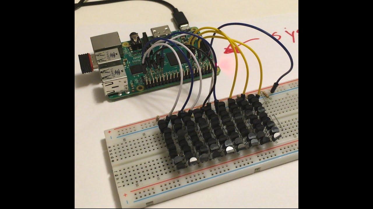 Raspberry Pi 81 Ds18b20 Sensors Multiple Gpio Youtube Wiring Leds Along With Hall Effect Sensor