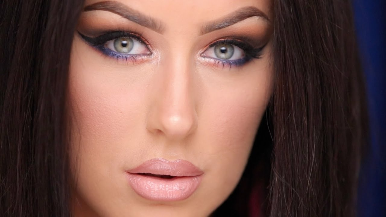 New Black Hair Makeup Tutorial Youtube