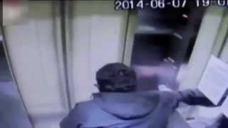 VIDEO: Elevator Malfunction Goes Up Crashing Through The Roof In Chile Elevator Smashes Into Roof