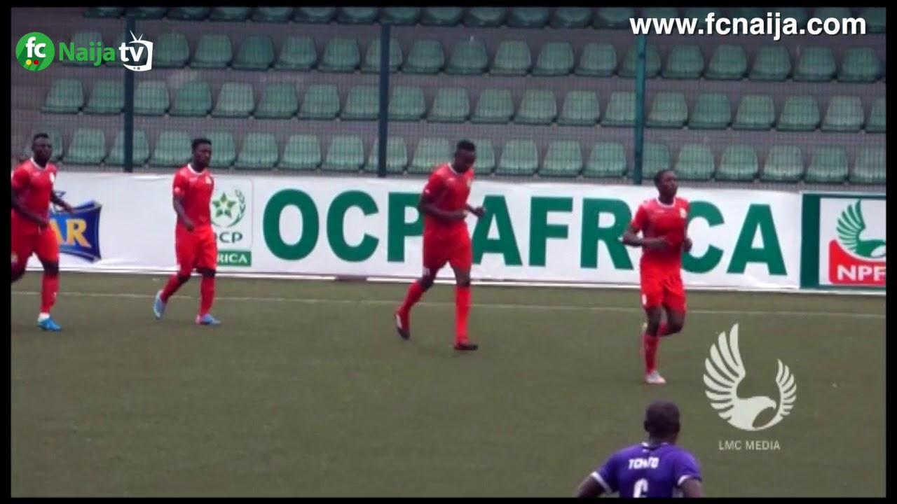 Highlights of Nigeria Professional Football League (NPFL) match-day 14 fixtures courtesy LMC Media