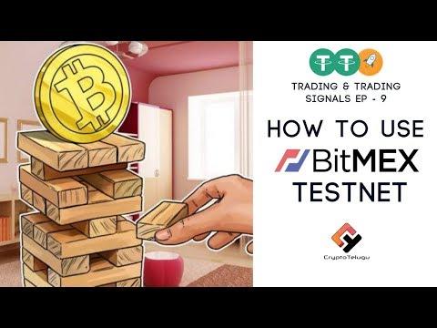 How to use BitMEX Testnet ? TTS EP 9 Telugu - YouTube
