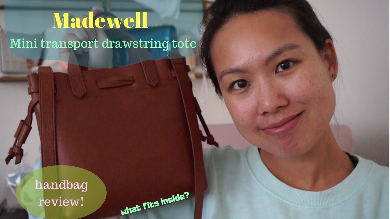 034240eab20b Madewell Mini Transport Drawstring Tote review