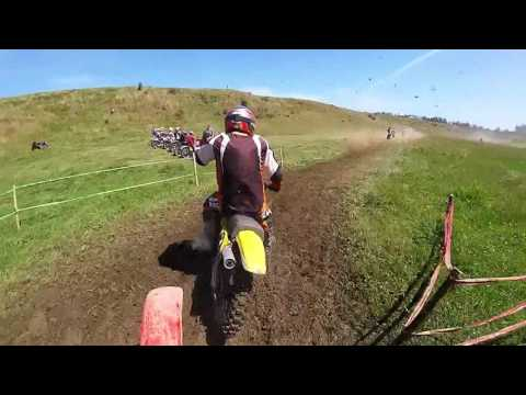 Vintage Motocross xr250 chasing yz250 (old thumpers)