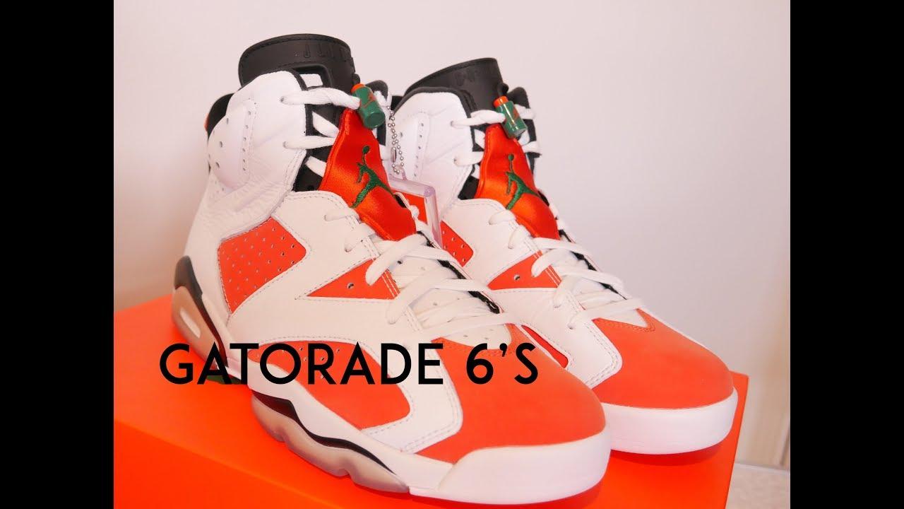 3a29b9f0165 AIR JORDAN 6 GATORADE