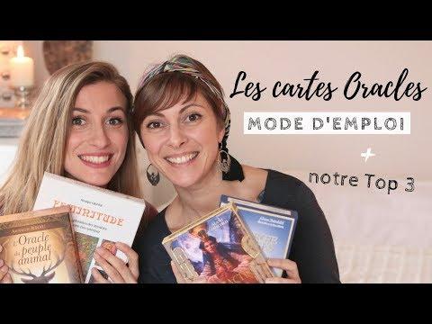 Les cartes Oracles : Mode d'Emploi + notre Top 3  avec Hélène de Tarot Energie
