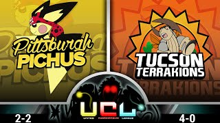 Pittsburgh Pichus VS Tuscon Terrakions [UCL W5] Pokemon Omega Ruby/Alpha Sapphire WiFi Battle