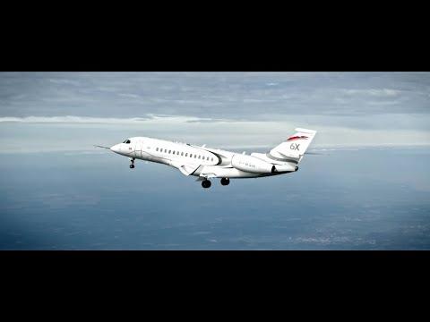 Vol inaugural du Falcon 6X / Falcon 6X Maiden Flight - Dassault Aviation