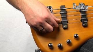 The RockBass Corvette Basic Active 5-String - with Andy Irvine
