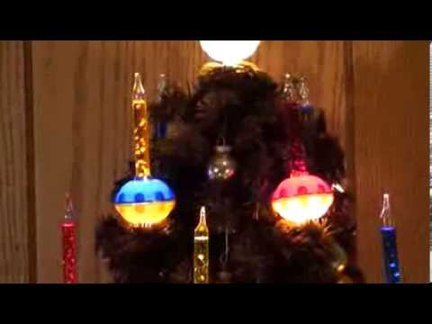 Vintage NOMA Bubble Light Christmas tree - YouTube