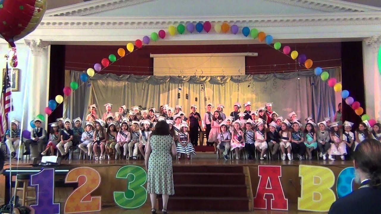 Kinder Garden: Kindergarten Graduation 2014