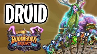 DRUID Card Review | The Boomsday Project | Hearthstone