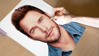 Drawing Chris Pratt