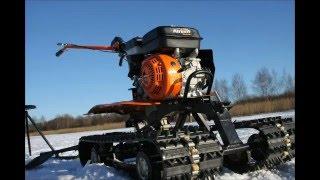 Мотоблок PATRIOT Dakota Pro в качестве снегохода