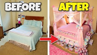 ULTIMATE BEDROOM MAKEOVER!!! + New Torture Device!
