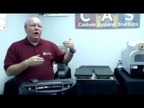 Home Office Direct to Garment Printer Bundle | Commercial Production in a Small Space
