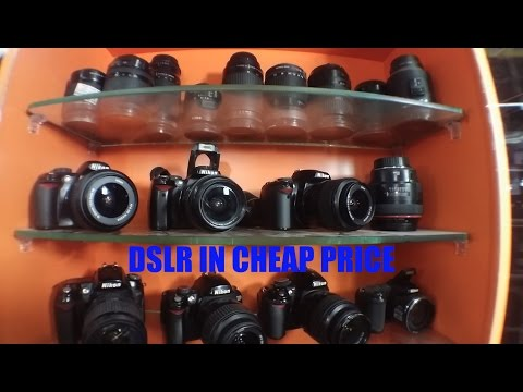 The Best Dslr Market In Delhi | Kuccha Choudhary Market | Dslr In Cheap Price | Vlog#4
