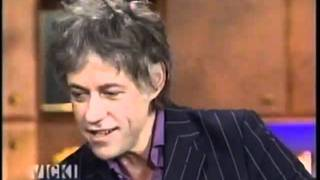 Bob Geldof interviewed by Vicki Gabereau