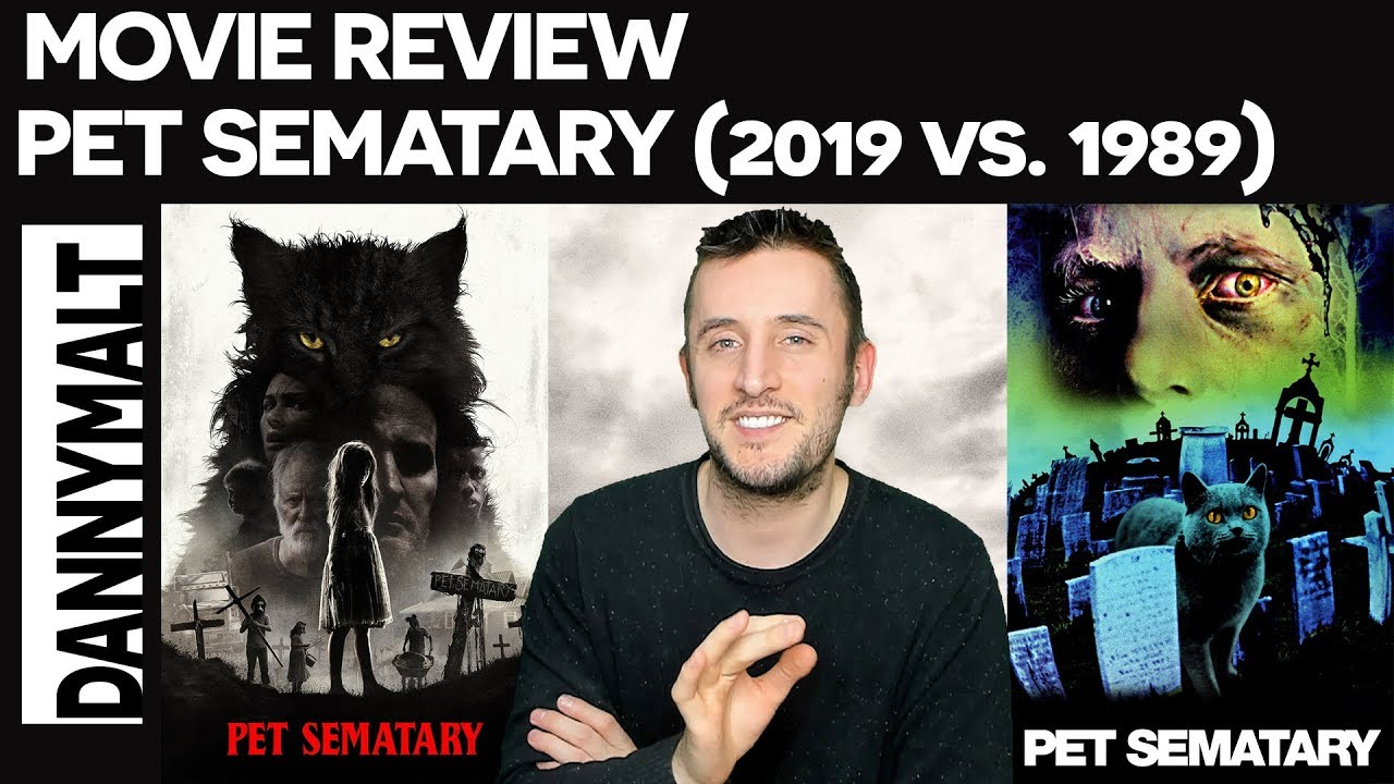 Movie Poster 2019: Pet Sematary (2019) Vs. Pet Sematary (1989)