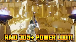 DESTINY 2 - RAID LEVEL 305 POWER LOOT RUN! (Destiny 2 Weekly Reset Grind)