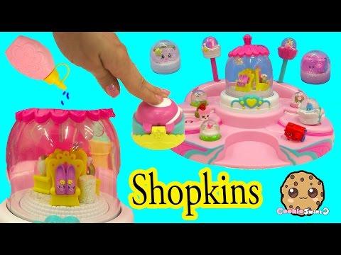 Shopkins Glitzi Globes Pretty Fashion Parade Water Play Snow Dome Maker Playset - Cookieswirlc