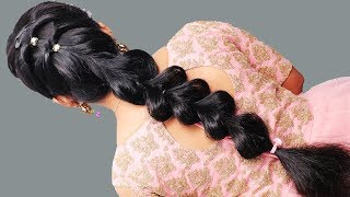 Different hairstyle for long hair 2019   Hairstyles for Party, wedding, function   Hairstyles girl