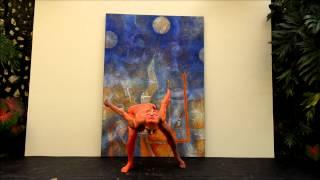 Ensamble de música y pintura en movimiento