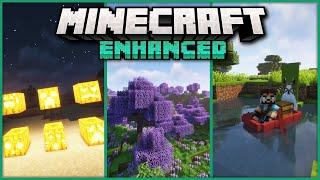 Top 40 Mods that Really Enhance Minecraft! Vanilla+ 1.16.5