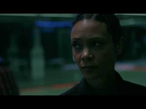 Maeve, Hector, Armistice breaking out Shootout Scene Westworld Season 1 Episode 10