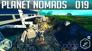 PLANET NOMADS #019 | Verstopfung im Transportsystem | Gameplay German Deutsch thumbnail