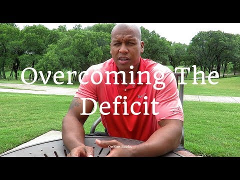 Overcoming The Deficit | OnFire Books Author Maurice Evans
