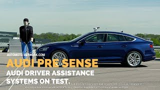 Audi Pre Sense   Audi Driver Assistance Systems In The Test.
