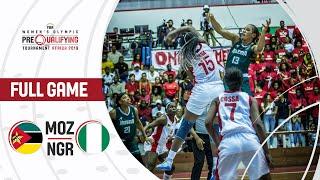 Mozambique v Nigeria - Full Game - FIBA Women's Olympic Pre-Qualifying Tournaments 2019