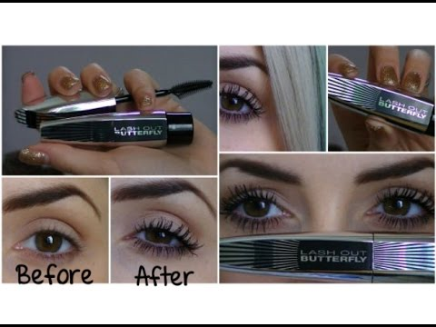 Loreal Butterfly Mascara Review & Demo