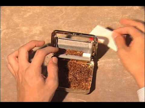 Shag シャグ、手巻きタバコ (3): ローリングマシーンでの巻き方